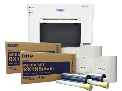 media set for dnp ds-rx1 printer