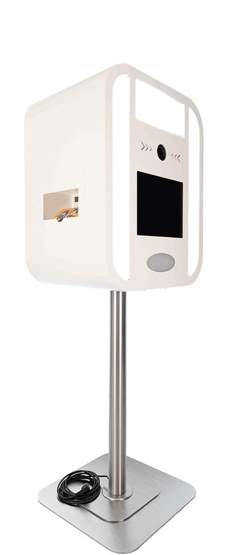 Photo booth lighting LG leds and white plexiglas.